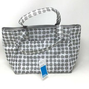 Room Essentials Lunch Bag Insulated PEVA Liner Gra